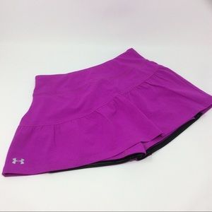 Under Armour Running or tennis skirt in fuschia
